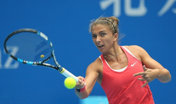 Sara+Errani+2015+China+Open+caroline+garcia
