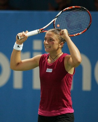 TENNIS-SLOVENIA-WTA-FINAL-ERRANI-GARRIGUES