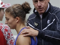 Czech Italy Fed Cup Tennis